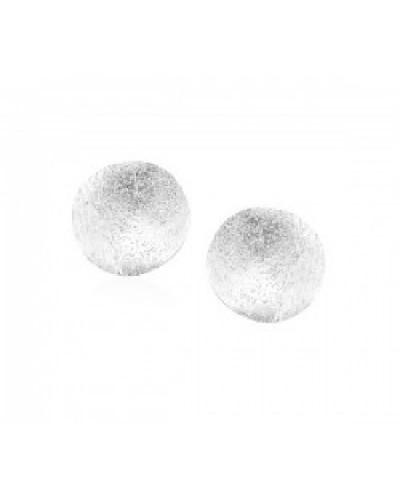 Pendientes de plata con cierre omega, ideal para la mujer actual. - ARRM026O