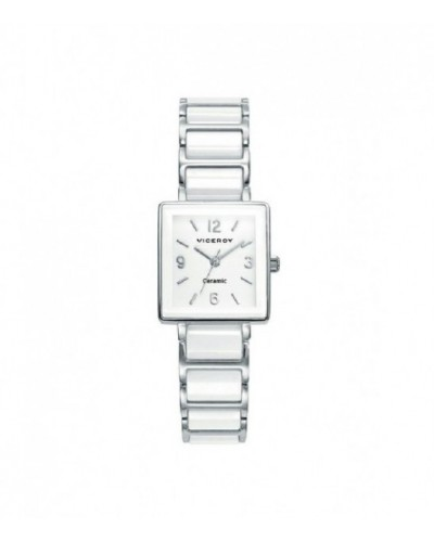 Reloj Viceroy señora cerámico blanco. - 471046-05