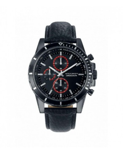 Reloj Viceroy caballero cronómetro correa piel. - 40505-57