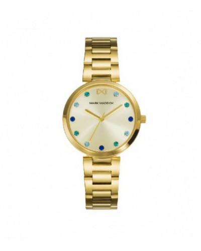 Reloj Mark Maddox señora acero IP dorado. - MM0114-97
