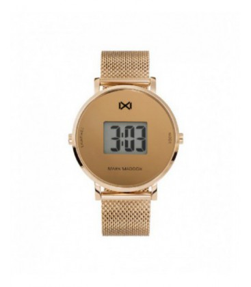 Reloj Mark Maddox señora digital acero IP rosa. - MM0118-90