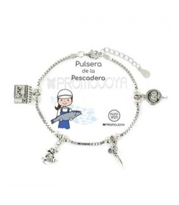 Polseres plata professions, Peixetera. - 9107644