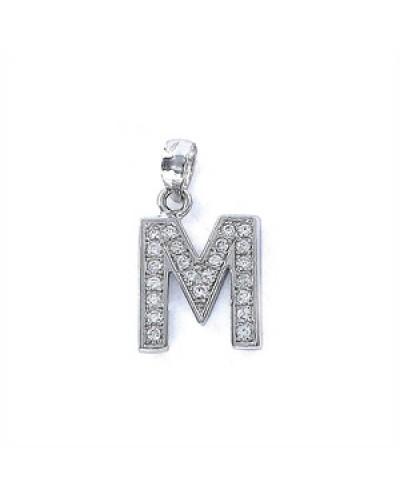 Penjoll de plata inicial M. - 9075818