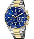 Rellotge Jaguar híbrit cavaller esfera blava. - J889/1