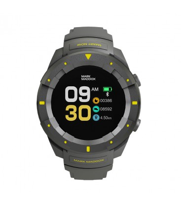 Reloj Mark Maddox caballero smart time correa gris. - HS1001-60