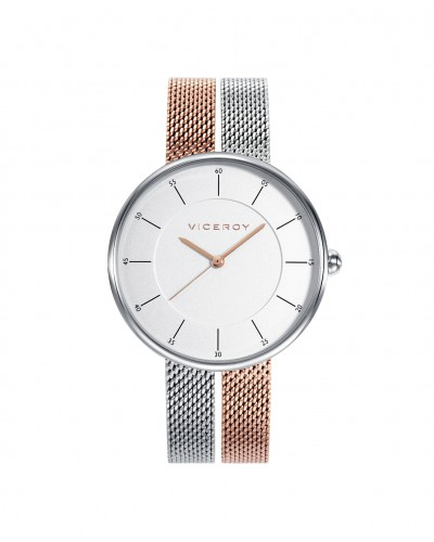 Rellotge Viceroy de senyora amb braçalet bicolor. - 42374-17
