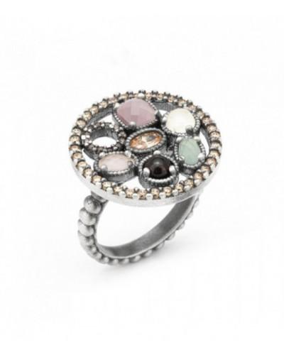 Anell de plata Raive. - 15276