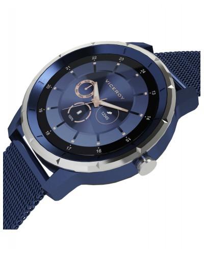 Pack reloj Viceroy smart de caballero aluminio azul. - 41111-30