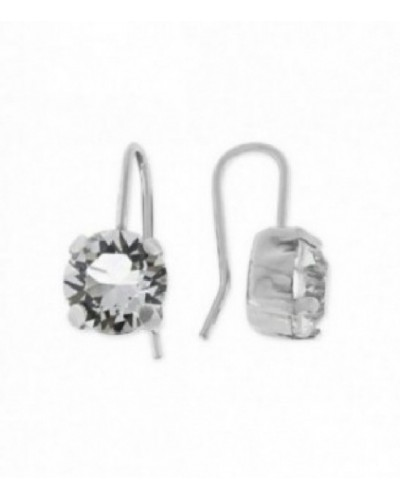 Pendientes de plata con cristales de Swarovski. - LSW4039A-B