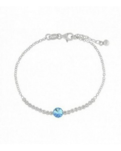 Pulsera de plata con cristales de Swarovski. - LSW3126BR-A