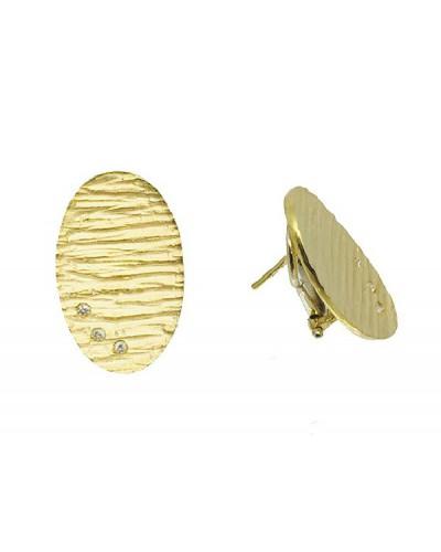 Arrecades d'or groc - 02-3746/BR