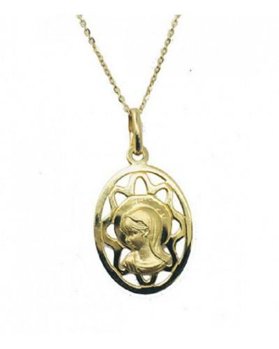 Medalla de oro de la Virgen Niña. - 2016426