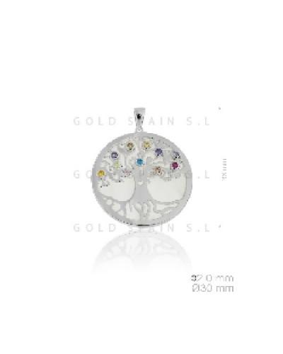 Penjoll de plata arbre de la vida. - 135911