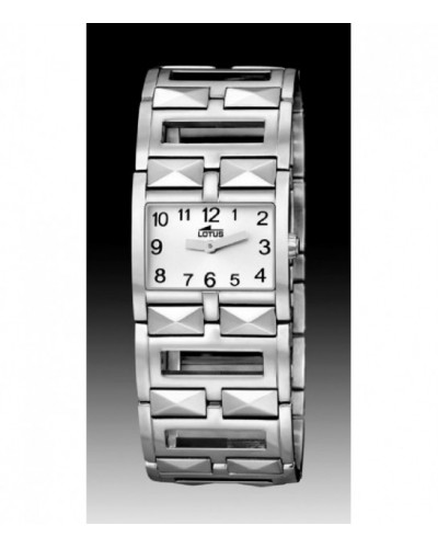 Rellotge Lotus senyora braçalet d'acer. - 15438/C