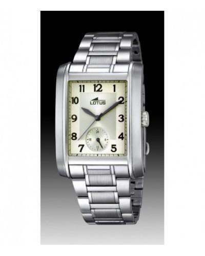 Reloj Lotus caballero acero. - 18351/2